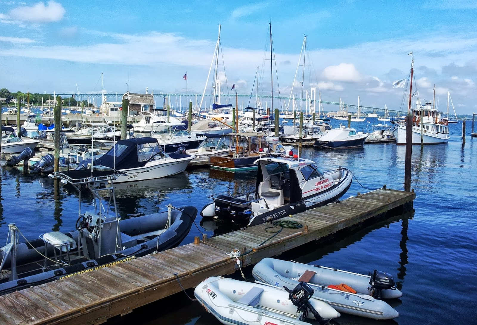 Conanicut is one of the most visited harbor towns on the East Coast.